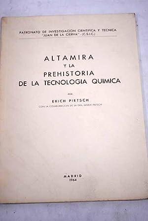 Altamira y la prehistoria de la tecnología: Pietsch, Erich