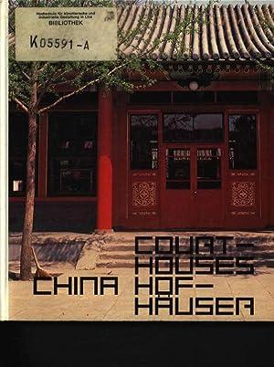 Courtyard house in China Werner Blaser ;: Blaser, Werner: