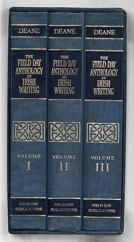 The Field day anthology of Irish writing: Seamus Deane (ed)