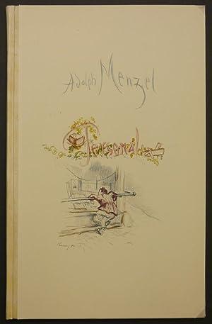 Personalia. Handschrift im Archiv der Akademie der: Slevogt. - Menzel,