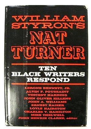 William Styron's Nat Turner: Ten Black Writers: Clarke, John Henrik