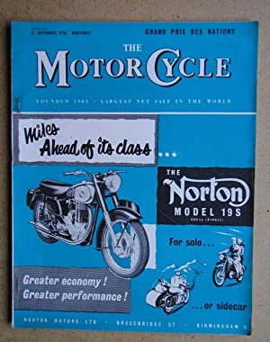 The Motor Cycle. 13 September, 1956.: Louis, Harry. Edited