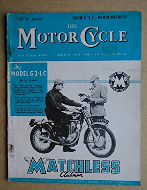 The Motor Cycle. 9 May, 1957.: Louis, Harry. Edited