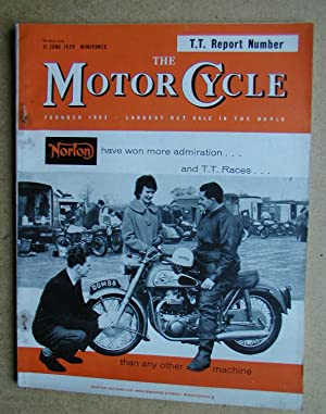 The Motor Cycle. 11 June, 1959.: Louis, Harry. Edited