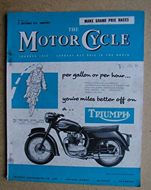 The Motor Cycle. 17 September, 1959.: Louis, Harry. Edited
