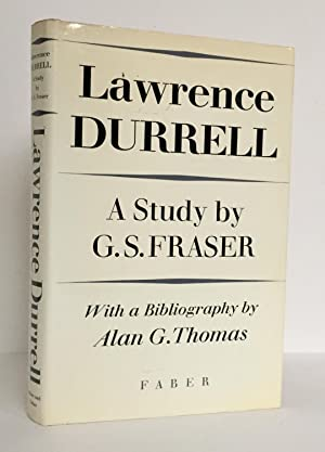 Lawrence Durrell, A Study, with a bibliography by Alan G. Thomas
