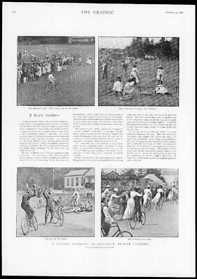 1898 Antique Print - CANADA British Columbia