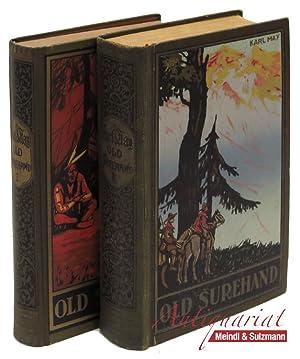 Old Surehand. Reiseerzählung. 2 Bände. 151.-164. Tausend,: May, Karl.