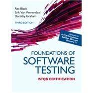 Foundations of Software Testing ISTQB Certification: Black, Rex; van