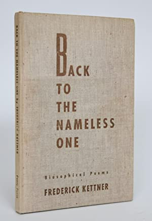 Back to The Nameless One: Biosophical Poems