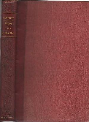 Étude sur Augustin Chaho auteur de La: Lambert, Gustave