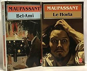 Bel-Ami + Le Horla --- 2 livres: Guy De Maupassant