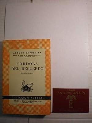 Córdoba del recuerdo. Austral 97: Arturo Capdevila