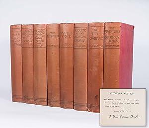 The Works. Author's Edition, 8 volumes -: DOYLE, Arthur Conan.