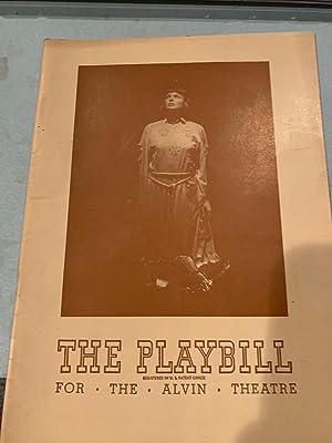 JOAN OF LORRAINE PLAYBILL: MAXWELL ANDERSON
