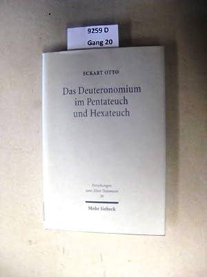 Deuteronomium und seine Deutungen. - Ein forschungsgeschichtlicher Uberblick.