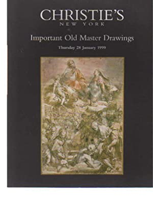 Christies 1999 Important Old Master Drawings