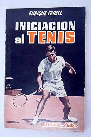 Imagen del vendedor de Iniciación al tenis a la venta por Alcaná Libros