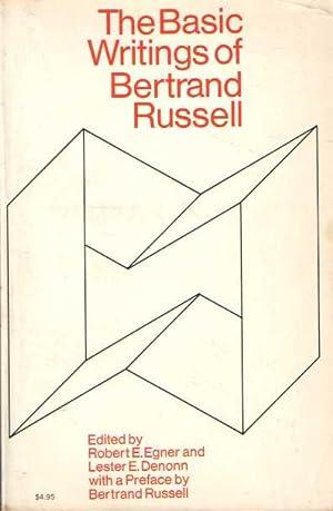 The Basic Writings of Bertrand Russell, 1903-1959: EGNER, ROBERT E.