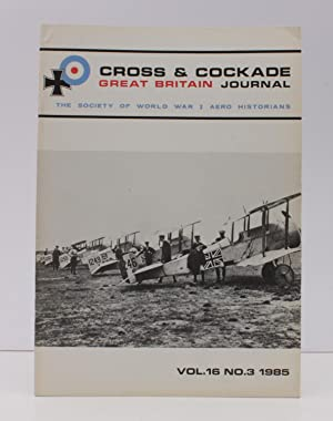 Vol. 16. No. 3. The Society of: CROSS AND COCKADE