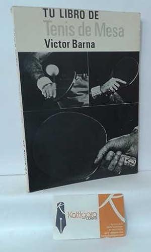 Imagen del vendedor de TU LIBRO DE TENIS DE MESA a la venta por Librería Kattigara