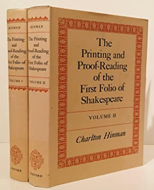 The Printing and Proof-Reading of the First: Hinman, Charlton