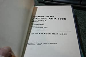 Handbook For The Fiat 600 And 600D: Piet Olyslager