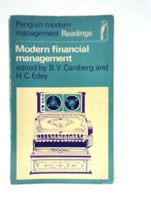 Modern Financial Management; Selected Readings: B.V Carsberg et