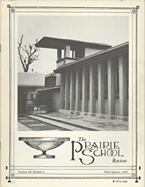 The Prairie School Review (Volume III, Number: Hasbrouck, W. R.