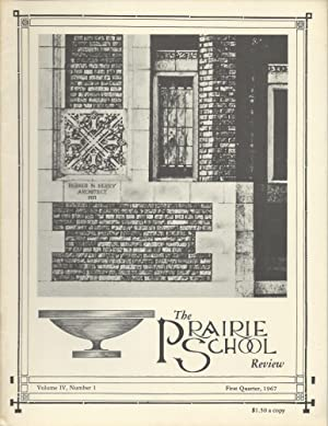 The Prairie School Review (Volume IV, Number: Hasbrouck, W. R.