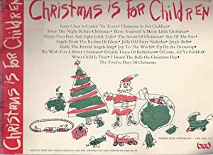 Christmas is for Children Easy Piano with Big Notes / Words / Chords ( Christmas Songs / Carols -...