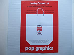 Pop Graphics with image of Andy Warhol: Warhol, Andy