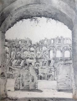 Monuments de Rome & Tivoli dessinés d'après: WISE,C.: