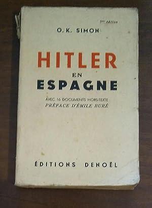 HITLER EN ESPAGNE: O.K. SIMON