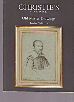 Christies July 1998 Old Master Drawings