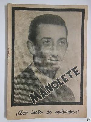 MANOLETE: TIJERETAS GÓMEZ Francisco