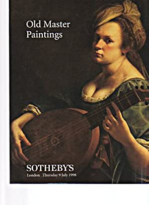 Sothebys July 1998 Old Master Paintings