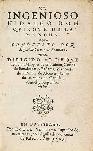 El ingenioso hidalgo don Quixote de la: CERVANTES SAAVEDRA, Miguel