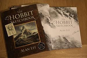 Bild des Verkäufers für The Hobbit Sketchbook signed first edition zum Verkauf von Analecta Books