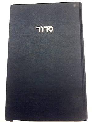 Forms of Prayer for Jewish Worship: Daily,