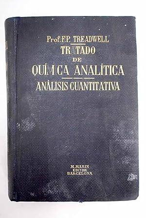 Tratado de química analítica: Treadwell, F. P.