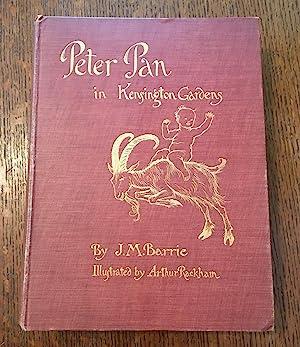 PETER PAN IN KENSINGTON GARDENS.: RACKHAM. ARTHUR. Illustrates;