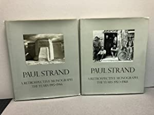 PAUL STRAND : A Retrospective Monograph The Years 1915- 1946 , Vol.1 & The Years 1950 - 1968 , Vol.2