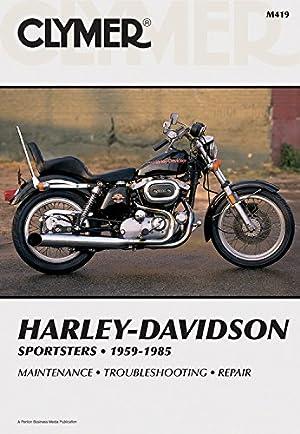 Clymer Harley-Davidson Sportsters 1959-1985: Service, Repair, Maintenance: Penton Staff
