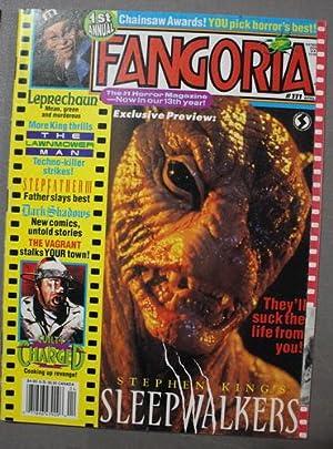 FANGORIA #111 (April/1992) Creature from Sleepwalkers Movie: KING, STEPHEN.
