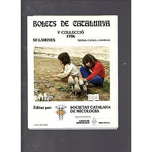 Bolets de Catalunya V col lecció /