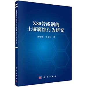 Soil Corrosion Behavior of X80 pipeline steel(Chinese: XU CONG MIN