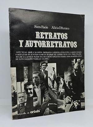 RETRATOS Y AUTORRETRATOS - Escritores de América: VV.AA. - FACIO,
