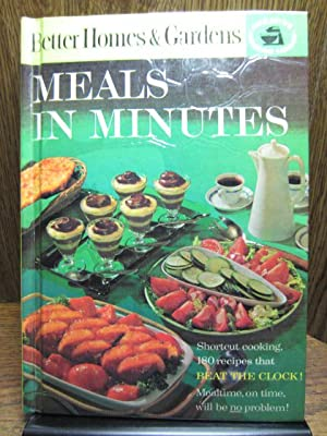 BETTER HOMES AND GARDENS MEALS IN MINUTES: Better Homes and