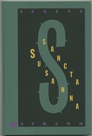 Sancta Susanna. (Dramatische Dichtung). Mit fünf, davon: Stramm, August: